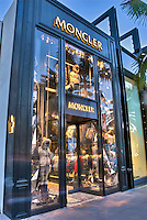 Moncler Beverly Hills CA; Rodeo Drive; Luxury Fashion Shopping; Los Angeles CA; Travel; Destination;