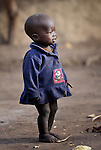 A boy in the Makpandu refugee camp in Southern Sudan, 44 km north of Yambio, where more that 4,000 people took refuge in late 2008 when the Lord's Resistance Army attacked their communities inside the Democratic Republic of the Congo. Attacks by the LRA inside Southern Sudan and in the neighboring DRC and Central African Republic have displaced tens of thousands of people, and many worry the attacks will increase as the government in Khartoum uses the LRA to destabilize Southern Sudan, where people are scheduled to vote on independence in January 2011. Catholic pastoral workers have accompanied the people of this camp from the beginning.