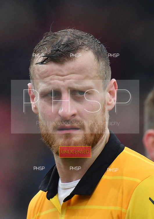 11/03/2017 Sky Bet League 1 Fleetwood Town v Bolton Wanderers<br /> <br /> David Wheater, Bolton Wanderers FC