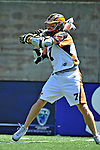 24 August 2008: Rochester Rattlers' Midfielder Pat Dutton in action against the Denver Outlaws during the Championship Game of the Major League Lacrosse Championship Weekend at Harvard Stadium in Boston, MA. The Rattles defeated the Outlaws 16-6 to take the league honor for the 2008 season...Mandatory Photo Credit: Ed Wolfstein Photo