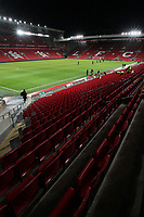 A general view of Anfield, home of Liverpool Football Club<br /> <br /> Photographer Rich Linley/CameraSport<br /> <br /> The Premier League - Liverpool v Burnley - Sunday 12 March 2017 - Anfield - Liverpool<br /> <br /> World Copyright &copy; 2017 CameraSport. All rights reserved. 43 Linden Ave. Countesthorpe. Leicester. England. LE8 5PG - Tel: +44 (0) 116 277 4147 - admin@camerasport.com - www.camerasport.com