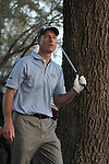21 March 2010:  Tournament champion Jim Furyk watches his approach shot after he hit his drive into the woods on the 18th hole in the final round at the Transitions Championship Tournament at Innisbrook Golf Resort in Palm Harbor, Florida.