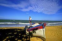 Praia de Manguinhos. Espírito Santo. 1988. Foto Juca Martins.
