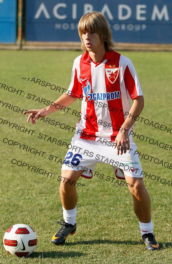 Fudbal, Jelen super liga, sezona 2011/12.Crvena Zvezda.Filip Jankovic.Belgrade, 01.09.2011..foto: Srdjan Stevanovic/Starsportphoto ©