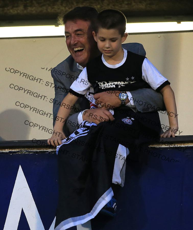 Fudbal Football Soccer<br /> UEFA Champions league-2nd qualifying round<br /> Partizan v HB Torshavn (Faroe Islands)<br /> Radomir Antic<br /> Beograd, 07.15.2014.<br /> foto: Srdjan Stevanovic/Starsportphoto &copy;