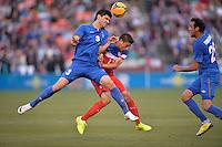 San Francisco, CA., - Tuesday, May 27, 2014: USA vs Azerbaijan during the first half at Candlestick Park.