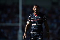 Samu Manoa of the USA looks on during a break in play. Rugby World Cup Pool B match between Samoa and the USA on September 20, 2015 at the Brighton Community Stadium in Brighton, England. Photo by: Patrick Khachfe / Onside Images