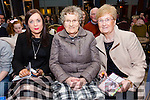 Enjoying the Ballymac GAA Strictly Come Dancing at Ballygarry Hotel on Saturday were Marie McCarthy, Peggy McCarthy, Noreen Flaherty
