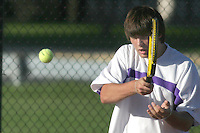 Boys Tennis vs. Elwood 9-12-07