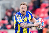Picture by Allan McKenzie/SWpix.com - 04/03/2017 - Rugby League - Betfred Super League - Salford Red Devils v Warrington Wolves - AJ Bell Stadium, Salford, England - Joe Westerman.