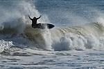 Big East Coast surfing in Folly Beach