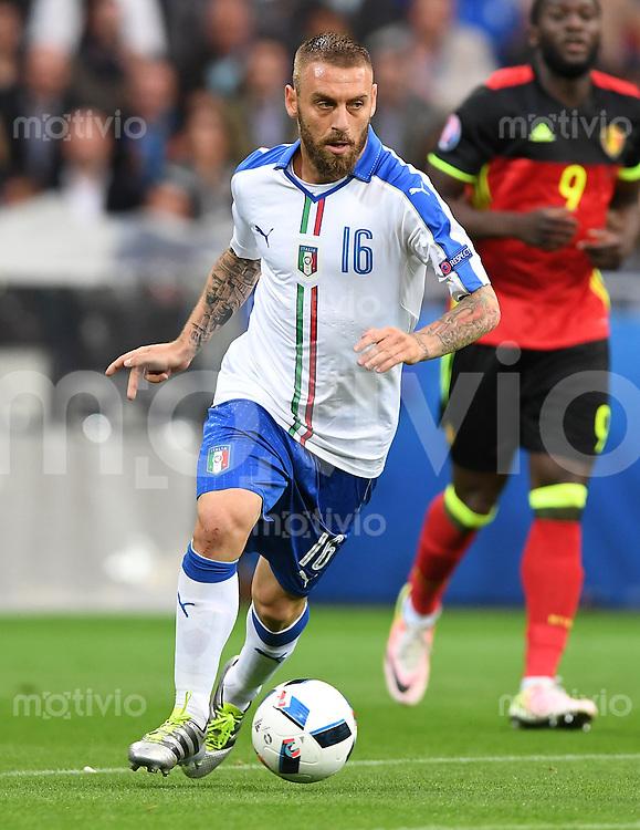 FUSSBALL EURO 2016 GRUPPE E IN LYON Belgien - Italien          13.06.2016 Daniele De Rossi (Italien)