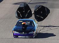Feb 24, 2017; Chandler, AZ, USA; NHRA top sportsman driver Raul Perez during qualifying for the Arizona Nationals at Wild Horse Pass Motorsports Park. Mandatory Credit: Mark J. Rebilas-USA TODAY Sports