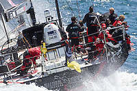 FRANCE, Lorient. 1st July 2012. Volvo Ocean Race, Start Leg 9 Lorient-Galway. PUMA Ocean Racing powered by BERG.
