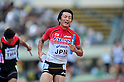 Hitoshi Saito (JPN), ..JULY 10, 2011 - Athletics :The 19th Asian Athletics Championships Hyogo/Kobe, Men's 4x100m Relay Final at Kobe Sports Park Stadium, Hyogo ,Japan. (Photo by Jun Tsukida/AFLO SPORT) [0003]