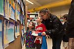 Los Altos Art Docents host art show at Springer Elementary School
