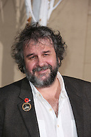 HOLLYWOOD, LOS ANGELES, CA, USA - DECEMBER 09: Peter Jackson arrives at the World Premiere Of New Line Cinema, MGM Pictures And Warner Bros. Pictures' 'The Hobbit: The Battle of the Five Armies' held at the Dolby Theatre on December 9, 2014 in Hollywood, Los Angeles, California, United States. (Photo by Xavier Collin/Celebrity Monitor)