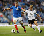 Lee McCulloch and Gavin Reilly