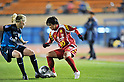 Shinobu Ono (Leonessa), NOVEMBER 30, 2011 - Football / Soccer : TOYOTA Vitz Cup during Frendiy Women's Football match INAC Kobe Leonessa 1-1 Arsenal Ladies FC at National Stadium in Tokyo, Japan. (Photo by Jun Tsukida/AFLO SPORT) [0003]