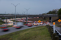 """Mopac is named Mopac Expressway (or, according to some highway signs, Mopac Boulevard) after the Missouri Pacific Railroad (or """"MoPac""""). Local residents will invariably use the name """"MoPac"""" rather than calling the road by its number, Loop 1, which can cause much confusion as few signs along the road use this name."""