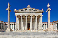 The Academy of Athens, Greece
