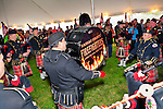 Fund raiser for firefighter Ray Pfeifer on Saturday, March 31, 2012, at East Meadow Firefighters Benevolent Hall, New York, USA.The Nassau County Firefighters Pipes and Drums band performed.