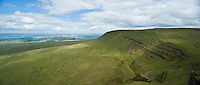 Fan Foel, Black Mountain, Brecon Beacons national park, Wales