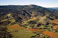 Sonoma County California Aerial Photography
