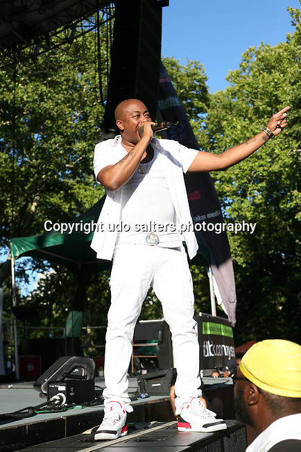 Raheem DeVaughn WBLS 5th Annual R&B Fest at Central Park SummerStage, NY
