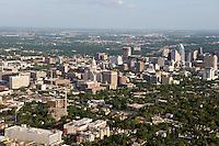 Austin, Texas, skyline including capitol district.