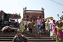 People on the streets surrounding the Jama Masjid&nbsp;mosque in Old Delhi. New Delhi, India