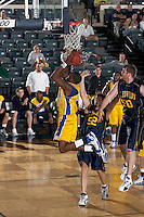 SAN ANTONIO, TX - FEBRUARY 19, 2007: The St. Edward's University Hilltoppers vs. the St. Mary's University Rattlers Men's Basketball at Bill Greehey Arena. (Photo by Jeff Huehn)