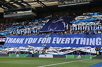 Chelsea fans pay tribute to John Terry during Chelsea vs Sunderland AFC, Premier League Football at Stamford Bridge on 21st May 2017