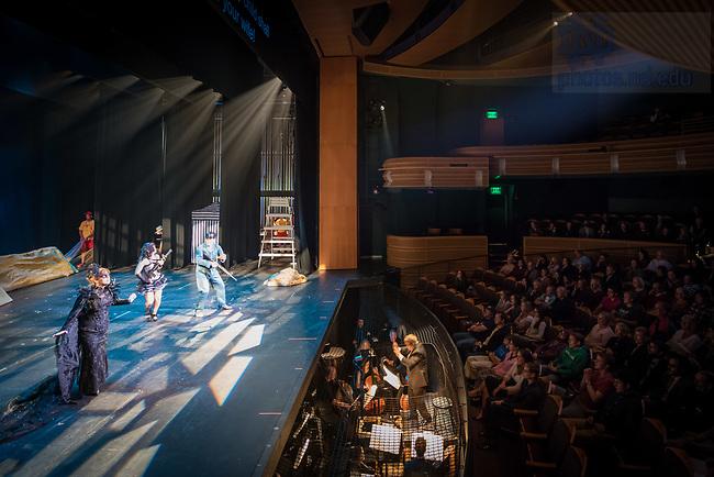 April 27, 2017; Opera ND production of Mozart's Die Zauberflöte, The Magic Flute (Photo by Matt Cashore/University of Notre Dame)
