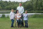 Hartman Family, three generations at Little Campbelll Lake Saturday, July 2, 2016.