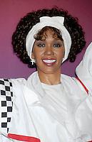 Whitney Houston's Wax Figures Ceremony with Cissy Houston - New York