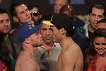 Pesaje desde las Vegas Nevada de Saul Canelo Alvarez vs Julio Cesar Chavez jr