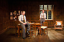London, UK. 02.04.2014. ANOTHER COUNTRY, by Julian Mitchell, directed by Jeremy Herrin, opens at the Trafalgar Studios after a successful run at Chichester's Minerva Theatre last year. Picture shows: Will Attenborough (Judd) and Rob Callender (Bennett). Photograph © Jane Hobson.