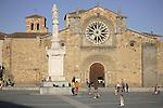 St Pedro Church, Avila, Spain