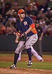 10 March 2014: Houston Astros pitcher Josh Zeid in action during a Spring Training game against the Washington Nationals at Space Coast Stadium in Viera, Florida. The Astros defeated the Nationals 7-4 in Grapefruit League play. Mandatory Credit: Ed Wolfstein Photo *** RAW (NEF) Image File Available ***