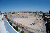 1997 May 06..Redevelopment..Macarthur Center.Downtown North (R-8)..LOOKING EAST.FROM FEDERAL BUILDING.SUPERWIDE...NEG#.NRHA#..