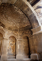 Round apse, basilica of Nestorian Christian Monk Bahira, who met and acknowledged Prophet Muhammad as a boy, 4th century AD, Bosra, Syria Picture by Manuel Cohen