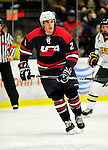 29 December 2010: The 2011 U.S. Men's National University Team's Mark Loecher, a defenseman attending Mercyhurst College, in action against the University of Vermont Catamounts in an exhibition game at Gutterson Fieldhouse in Burlington, Vermont. The Catamounts defeated the National team 7-1. Mandatory Credit: Ed Wolfstein Photo