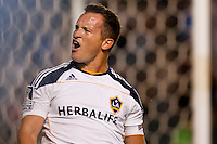 The LA Galaxy of MLS defeated LD Alajuelense of Federación Costarricense de Fútbol, 2-0 during a preliminary round of a 2011 CONCACAF Champions League (CCL) match at Home Depot Center stadium in Carson, California on Thursday August 25, 2011.