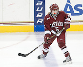 Kelsey Romatoski (Harvard - 5) - The Harvard University Crimson defeated the Northeastern University Huskies 4-3 (SO) in the opening round of the Beanpot on Tuesday, February 8, 2011, at Conte Forum in Chestnut Hill, Massachusetts.
