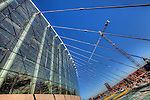 A view of the Kauffman Center for the Performing Arts construction progress on Friday, January 28, 2011.