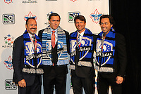 Andrew Wenger first pick of first round by Montreal Impact with coaching and management team... The 2012 MLS Superdraft was held on January 12, 2012 at The Kansas City Convention Center, Kansas City, MO.