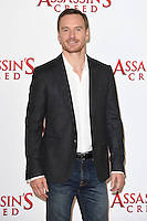 Michael Fassbender at the &quot;Assassin's Creed&quot; photocall at Claridges Hotel, London. December 8, 2016<br /> Picture: Steve Vas/Featureflash/SilverHub 0208 004 5359/ 07711 972644 Editors@silverhubmedia.com