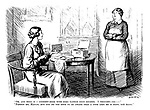 """""""Oh, and here is a cookery-book with some rather good recipes. I thought - er -"""" """"Pardon me, madam, but you do not seem to be aware that a cook like me is born, not made."""""""