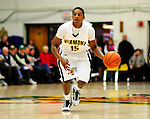 13 December 2009: University of Vermont Catamounts' guard Simeon Marsalis, a Freshman from New Rochelle, NY, in action against the Quinnipiac University Bobcats at Patrick Gymnasium in Burlington, Vermont. The Catamounts defeated the visiting Bobcats 80-77 to mark the Cats' season home opener with a win. Mandatory Credit: Ed Wolfstein Photo
